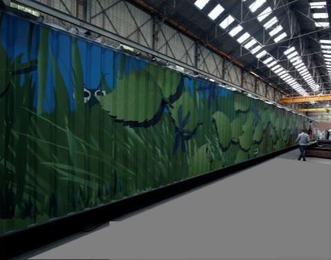 Galerie bardée de 70 m
